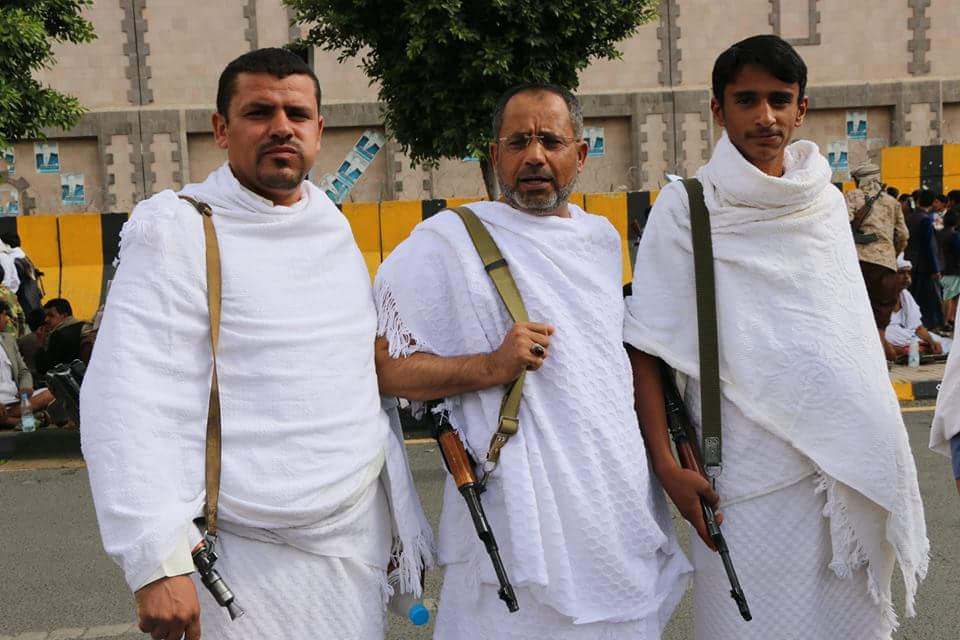 نتيجة بحث الصور عن الحوثيون يحجون في شوارع اليمن