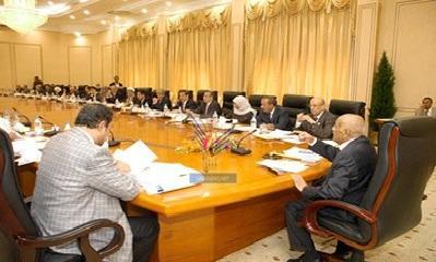 مجلس الوزراء اليمني يوافق على مشروع الموازنة العاملة للدولة لعام 2014م ويحيله الى مجلس النواب