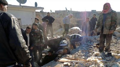 قبل أسبوع من جنيف 2.. وتيرة المعارك تتصاعد بسوريا