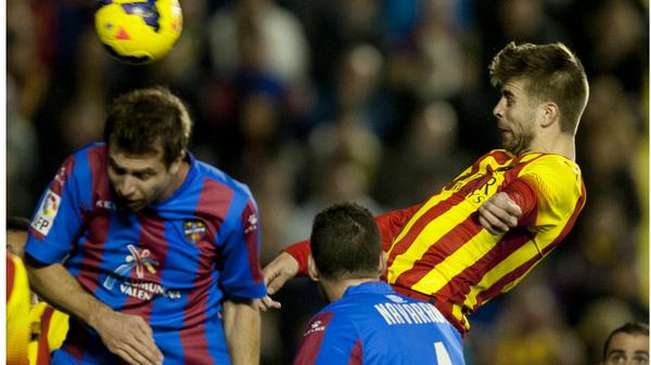 """ليفانتي """"يعرقل"""" برشلونة.. وأتليتكو يرفض الهدية"""