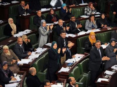 انتهاء المصادقة على فصول دستور تونس