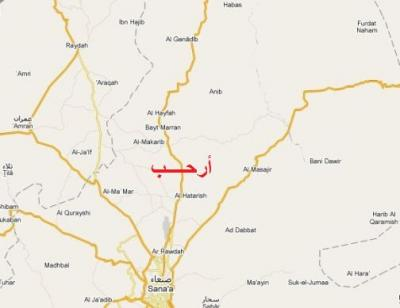 الناطق الرسمي لقبائل أرحب يكشف عن تراجع حوثي وهزائم واسعة وسقوط اسرى وأسلحة ثقيلة بيد القبائل