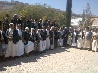 """ممثلي القبائل اليمنية في اجتماعهم اليوم : الملكية على أبواب صنعاء.. وإعلان """"النكف"""" والنفير العام في حالة عدم استجابة هادي"""