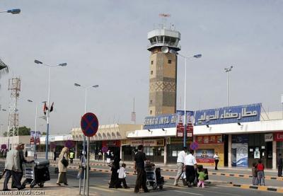 عاجل : مدير عام مطار صنعاء الدولي ينفي وقوع أي إنفجارات في محيط المطار ويدعوا الوسائل الإعلامية الى تحري الصدق