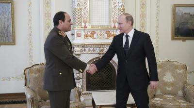 بعد أن أعلنت موسكو دعمها لترشح السيسي ... واشنطن : لا يحق لبوتين اختيار الرئيس المصري المقبل