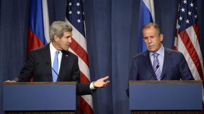 لافروف وكيري يتبادلان الاتهامات بشأن سوريا