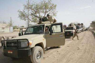 شبوة : نجاة مسئول كبير في الجيش من محاولة إغتيال ومقتل إثنين من مرافقيه
