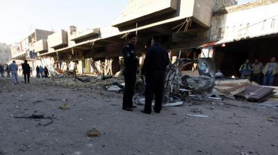 12 قتيلاً في سلسلة تفجيرات انتحارية متفرقة بالعراق