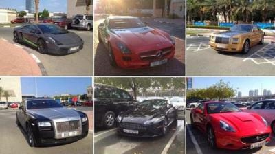 طلاب الغرب يتنافسون على العلم.. وطلاب دبي بتنافسون على السيارات الفارهة!