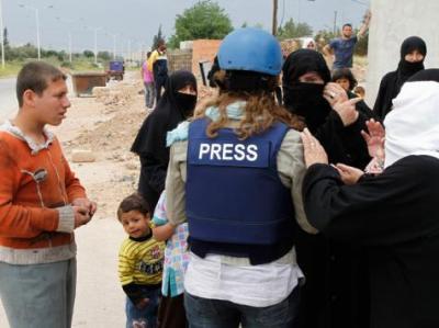 سوريا أخطر مكان لعمل الصحفيين بالعالم