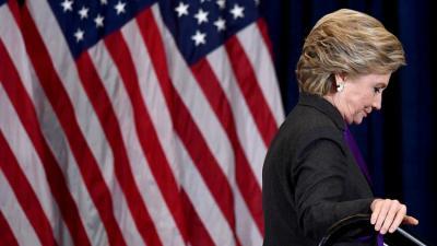 هيلاري كلينتون تحمل مدير أف بي آي مسؤولية خسارتها في الانتخابات