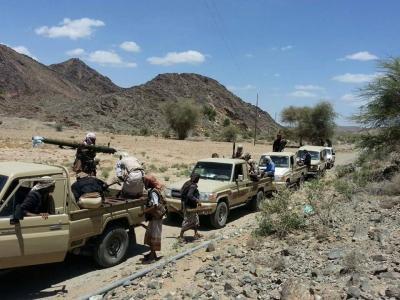 مقتل عناصر من جماعة الحوثي بينهم قيادي بارز في البيضاء