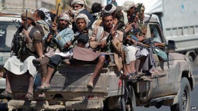 مسلحون حوثيون يقتحمون إدارة بحث صنعاء ويطلقون أحد السجناء بالقوة  ( تفاصيل)