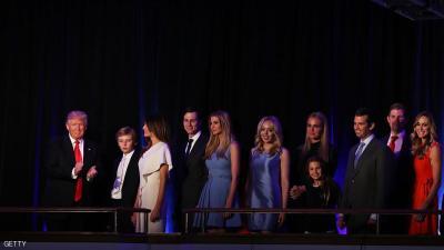 ترامب: أولادي بعيدون عن أسرار الأمن القومي
