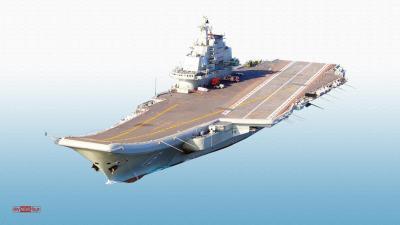 الصين تطلق رسمياً أول حاملة طائرات تنافس البحرية الأمريكية ( صور)