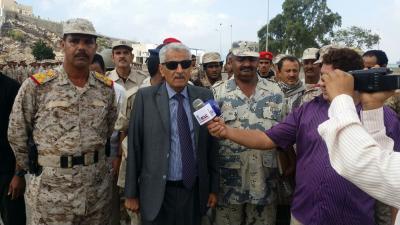 """وزير الداخلية اللواء """" عرب """" يشهد حفل تخرج الدفعة الأولى من وحدات مكافحة الارهاب( صور)"""