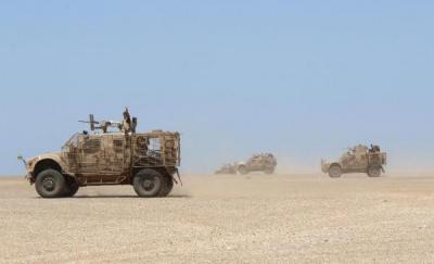 تعزيزات عسكرية كبيره للتحالف تصل جبهة باب المندب  - تفاصيل