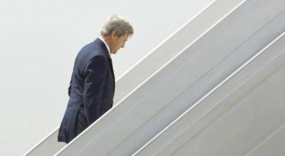 """الأمم المتحدة تسمي تحركات كيري """" مساعي """" في الملف اليمني ولم تسمها خطة جديدة"""