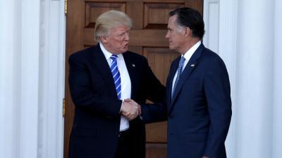 """ترامب يلتقي """"الأوفر حظا"""" لشغل منصب وزير الخارجية"""