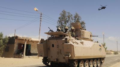 إرتفاع عدد قتلى الجنود المصريين .. وداعش يتبنى العملية