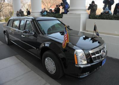 فيديو .. أقوى اختبار قيادة لسائق الرئيس الأمريكي
