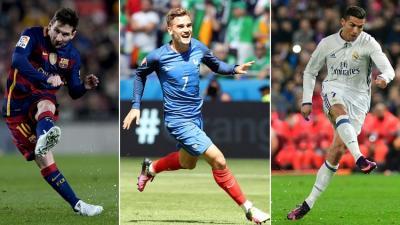 الفيفا يكشف القائمة النهائية للمرشحين لنيل جائزة أفضل لاعب