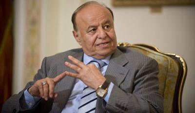 الرئيس هادي يرفض تسليم الحكم ويطلب من علي عبدالله صالح وعبد الملك الحوثي الخروج إلى منفى إختياري