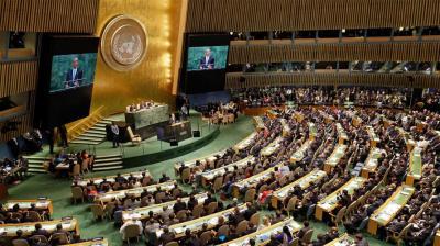 122 دولة تصوت لصالح وقف إطلاق النار في سوريا