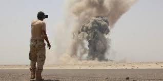 قتلى وجرحى من الجنود في إنفجار لغم في عدن