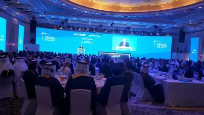 بالصور .. الفريق علي محسن الأحمر يشارك في فعاليات انطلاق قمة الأمن الإقليمي في المنامة