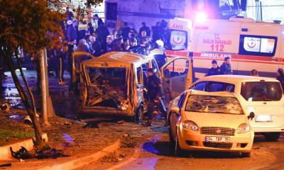 29 قتيلاً و166 جريحاً في تفجير مزدوج يضرب اسطنبول