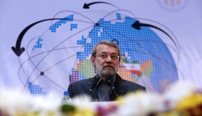 لاريجاني : إيران ليست عدوة السعودية