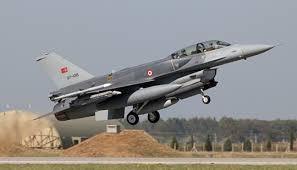 """الأركان التركية تعلن عن سقوط مقاتلة من طراز """" F16"""""""