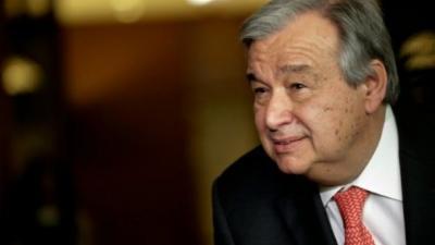 """الأمم المتحدة: غوتيريس يؤدي اليمين أمينا عاما جديدا ويعلن """"التغيير"""" للمنظمة"""
