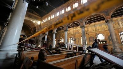 """""""داعش"""" يتبنى تفجير الكنيسة البطرسية في القاهرة"""