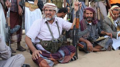 """القيادي في حزب الإصلاح والعميد في الجيش """" الحسن أبكر """" يرد على إتهامات الحكومة الأمريكية له بدعم الإرهاب ( بيان)"""