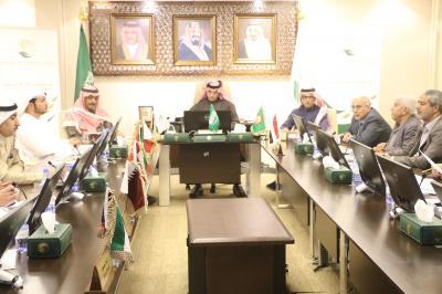 فتح وباعوم يبحثان الاحتياجات الإنسانية والصحية مع المكتب التنسيقي الخليجي( صوره)
