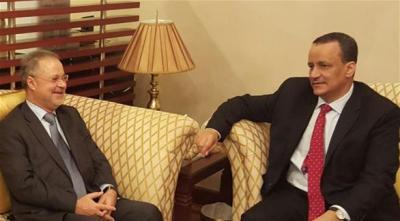 الحكومة اليمنية تطالب ولد الشيخ بورقة سلام جديدة