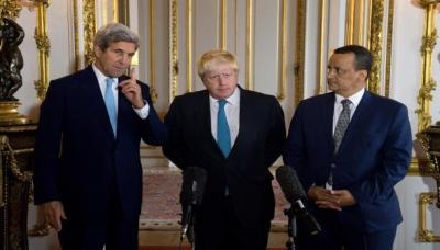 استئناف جهود حل الأزمة اليمنية : كيري في الرياض لدفع التسوية