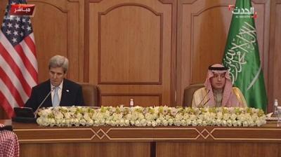 أبرز ما جاء في المؤتمر الصحفي الذي عقده وزيري خارجية أمريكا والسعودية بشأن اليمن