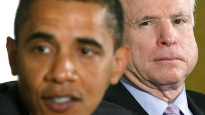 جون ماكين يهاجم أوباما ويتهمه بأنه أفقد الولايات المتحدة هيبتها