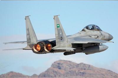 غارات جوية تستهدف شرق العاصمة صنعاء ( المواقع المستهدفة )
