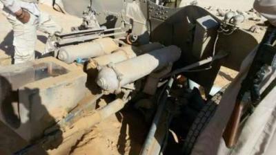 الجيش يتقدم في جبهة البقع ويسيطر على معدات عسكرية و أسلحة ( صور)