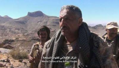 مدير العمليات الحربية : الجيش يقترب من نقيل بن غيلان شرق صنعاء