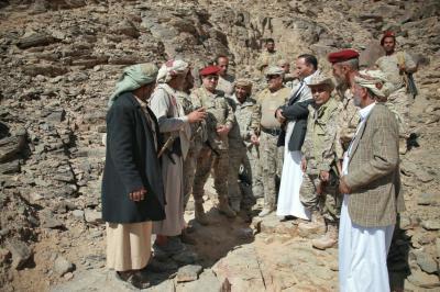 الفريق علي محسن الأحمر يوجه دعوة لرجال القبائل بصنعاء