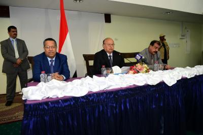 الرئيس هادي يتحدث عن تخاذل الجيش في سقوط صنعاء بأيدي الحوثيين ويوجه 4 رسائل ( نص الكلمة)