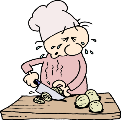 لماذا نبكي عندما نقطع البصل وكيف نمنع الدموع؟!