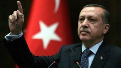 أردوغان يؤكد أن لديه أدله بأن أمريكا تدعم جماعات إرهابية في سوريا