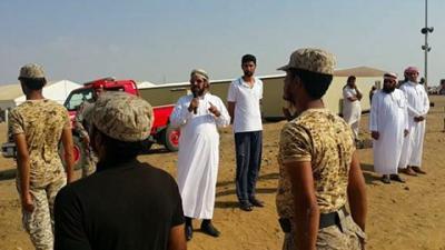بالصور .. محافظ صعدة يتفقد لواء عسكري سيشارك قريباً في معارك تحرير صعدة