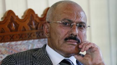 """الرئيس السابق """" صالح """" يرفض المبادرة الأممية """" المعدلة """".. ويصف المرجعيات الدولية لحل الأزمة اليمنية بالإستفزاز"""